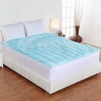 Authentic Comfort 3-inch Comfort Rx 5-zone Foam Mattress Topper