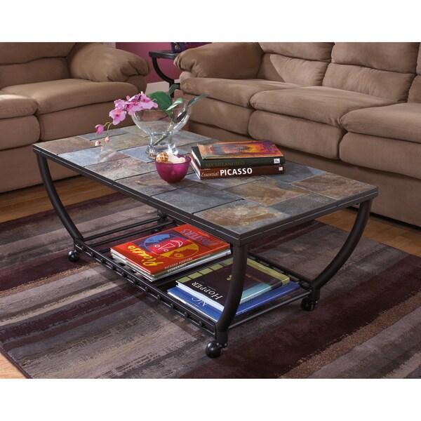 Antigo Sofa Table: Signature Designs By Ashley Antigo Black Rectangular
