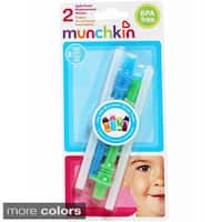 Munchkin Mighty Grip Replacement Straws with Valve (Pack of 2)