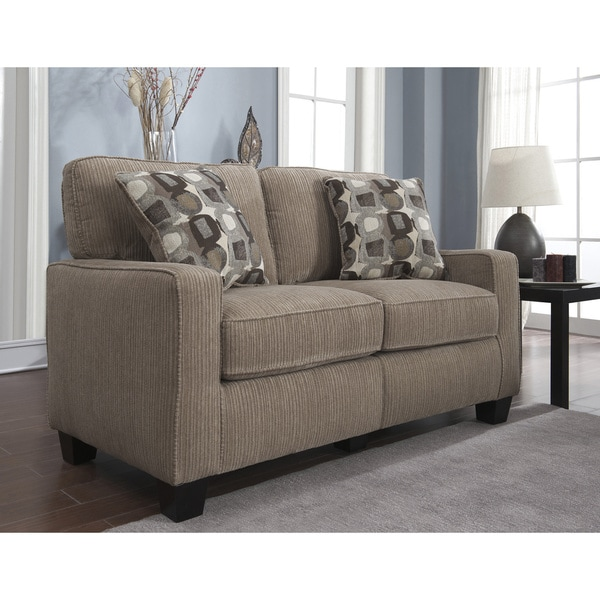 Serta Rta San Paolo Collection 61 Inch Platinum Fabric