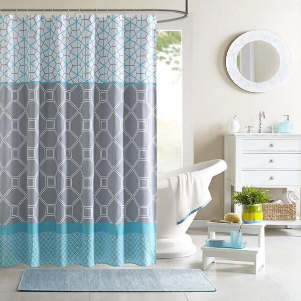 Intelligent Design Zara Shower Curtain 16339623 Overstock Com Shopping Great Deals On Id