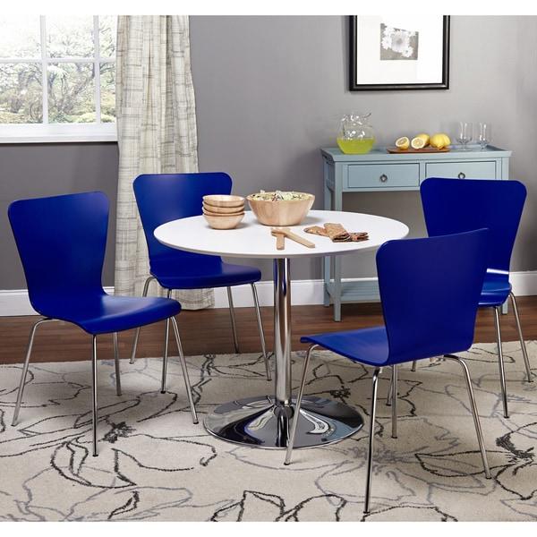 5pc Dining Set: Simple Living Pisa Modern 5pc Dining Set