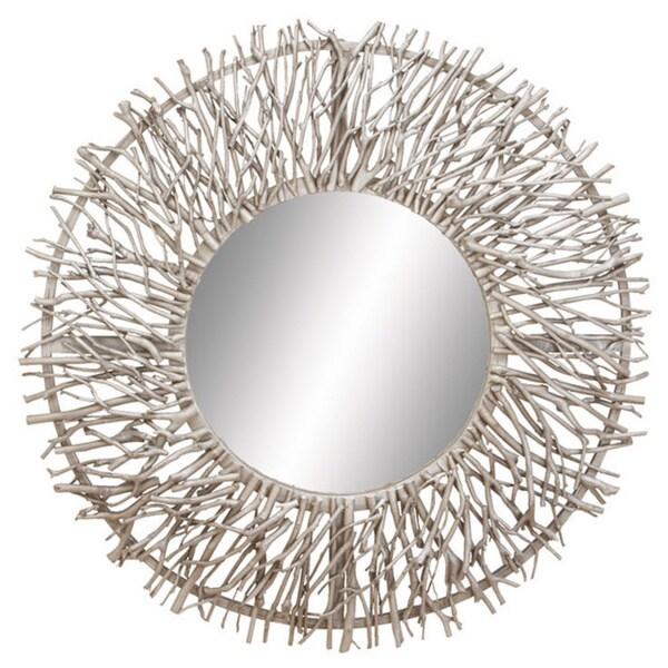Metal Wood Mirror 16339715 Overstock Com Shopping