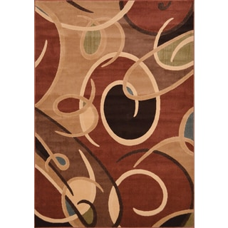 Hand Tufted Patchway Wool Rug 8 X 11 17701881