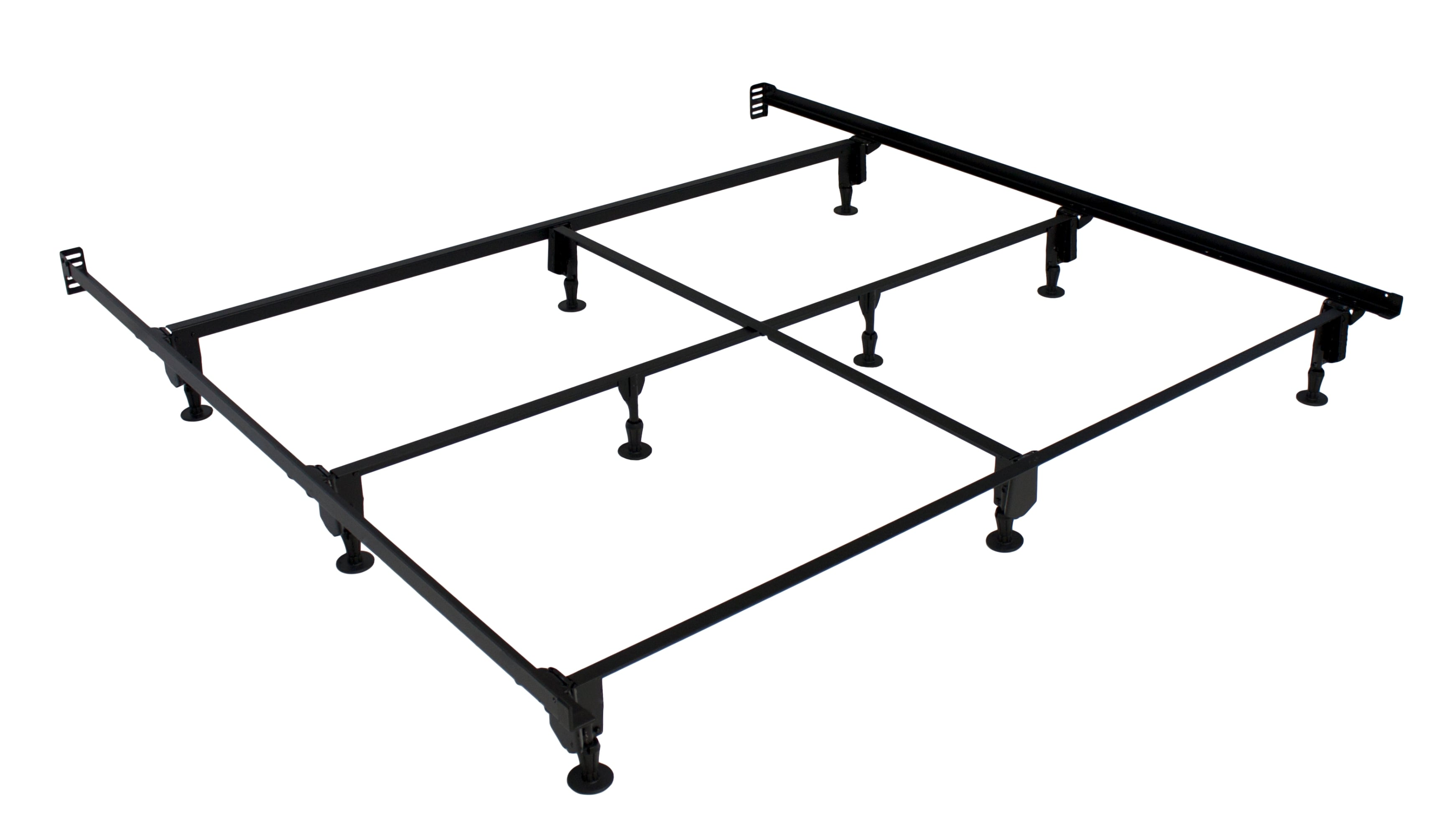 king bed frames overstock shopping the best prices online. Black Bedroom Furniture Sets. Home Design Ideas