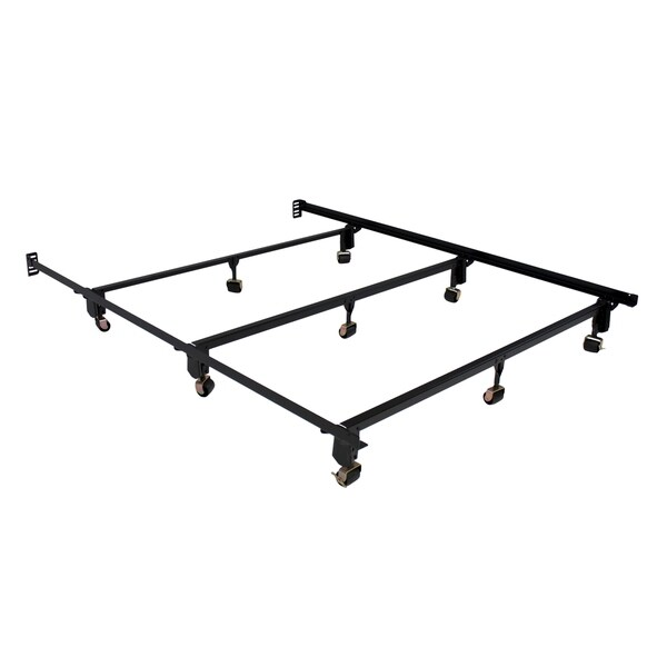 Serta Stabl Base Ultimate Bed Frame Queen With Wheels