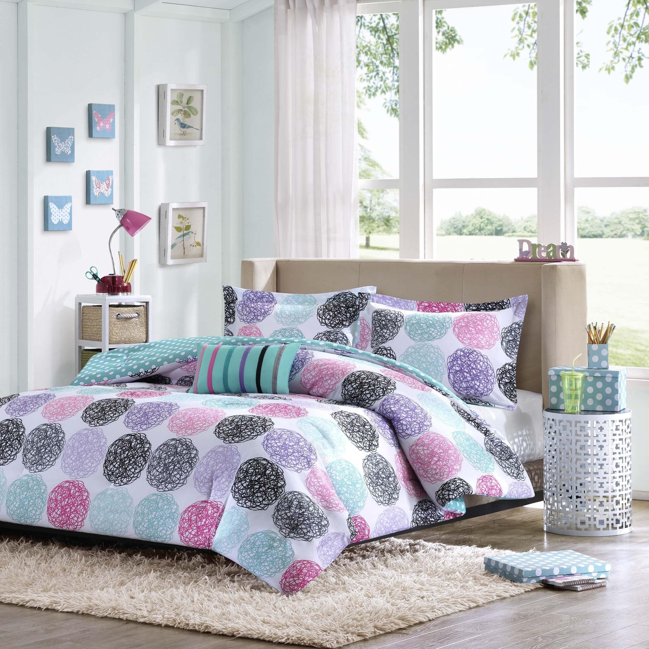 Mi Zone Audrina 3 Piece Comforter Set Overstock Shopping