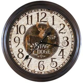 1930s Style Coca Cola Chrome Wall Clock 13070154