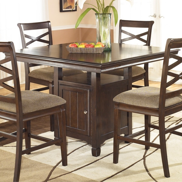 Ashley Table And Chairs: Signature Designs By Ashley Square Dining Room Counter