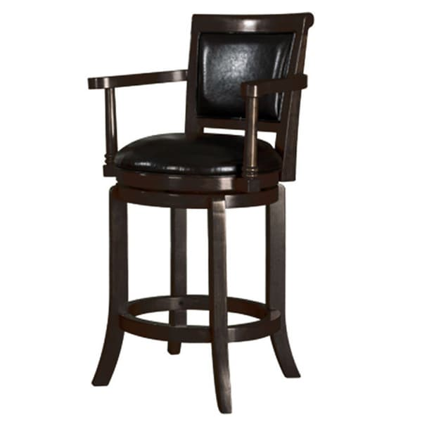 Shop Tribecca Home Watson 24 Inch Counter Height Chair: Manchester High Swivel 24-inch Counter Stool In Classic