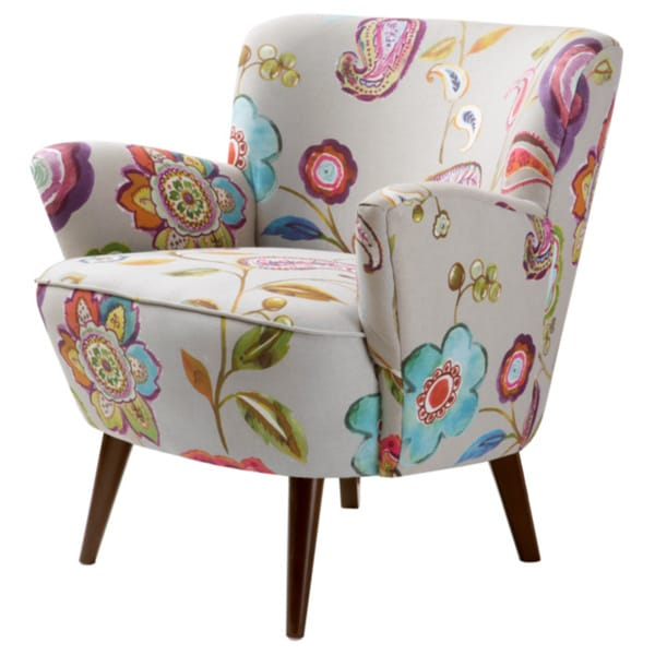 Sophie Floral Accent Chair 16374460 Overstock Com