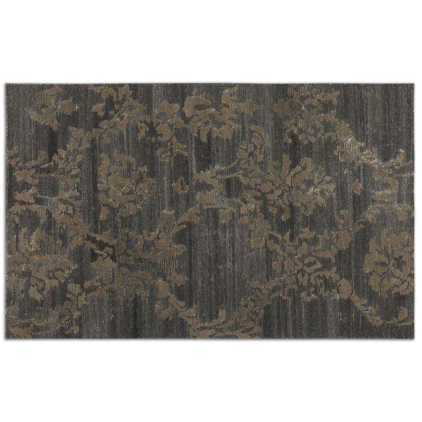 Uttermost Tavenna Grey Wool Rug 8x10 16378479