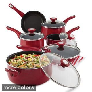 Cuisinart 55 11r Red Advantage Nonstick 11 Piece Cookware