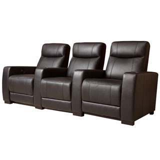 Remarkable Abbyson Living Montgomery 3 Piece Top Grain Leather Power Caraccident5 Cool Chair Designs And Ideas Caraccident5Info