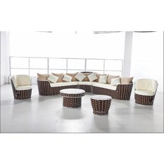 Luna Outdoor Round Rattan Patio Chair 15857758