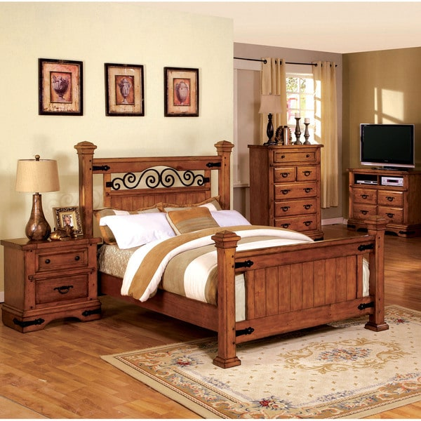 Furniture Of America Country Style Poster Bed 16385761