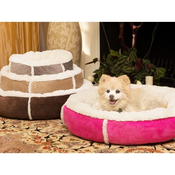 Dog Proof Throw Rugs: Best Friends By Sheri Round Bumper Winner Bolster Dog And