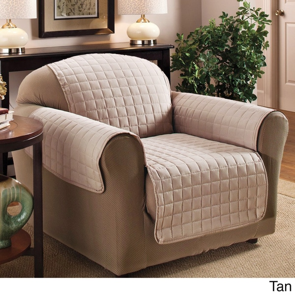 Luxury Quilted Furniture Protector For Chair 16402475