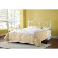 Copper Grove Hackler Textured White Bed Set