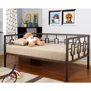Medallion Marshmallow White Twin Daybed 14188314