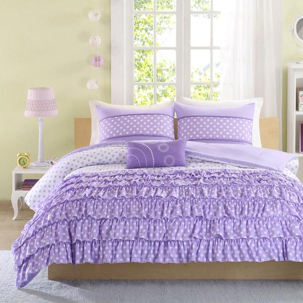 Mi Zone Ellen 4 Piece Comforter Set 16406887 Overstock