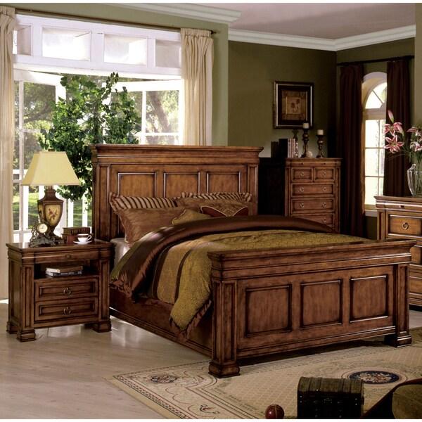 Furniture Of America Claresse Traditional 3-piece Tobacco