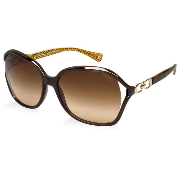 16d1cb658594 Rimless Aviator (s1013) Womens Coach Sunglasses | La Confédération ...