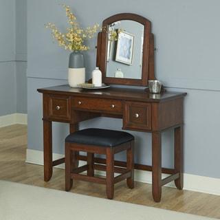 Furniture Of America Doris Solid Wood Vanity Table And