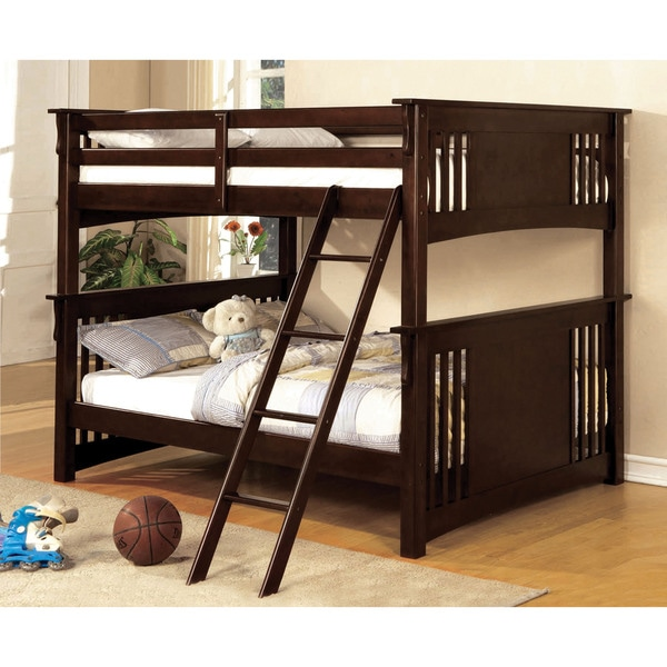 Us Furniture Deals: Furniture Of America Ashton Youth Full Over Full Bunk Bed