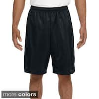 A4 Men's 9-inch Inseam Mesh Shorts