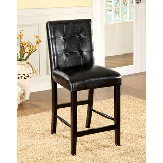 Furniture Of America Tornillo Leatherette Counter Height