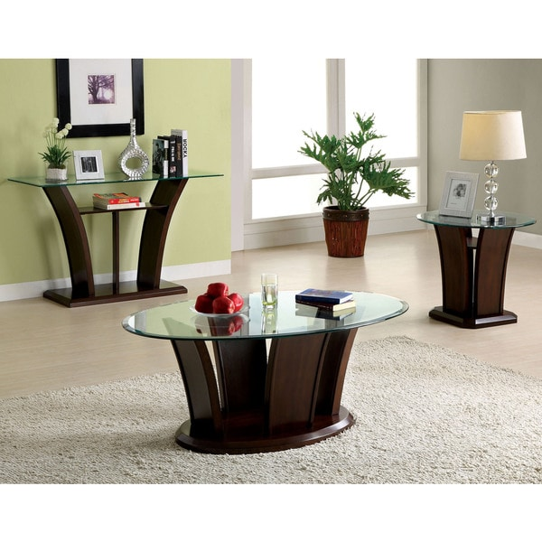 Us Furniture Deals: Furniture Of America Adrian Dark Cherry 3-Piece Accent