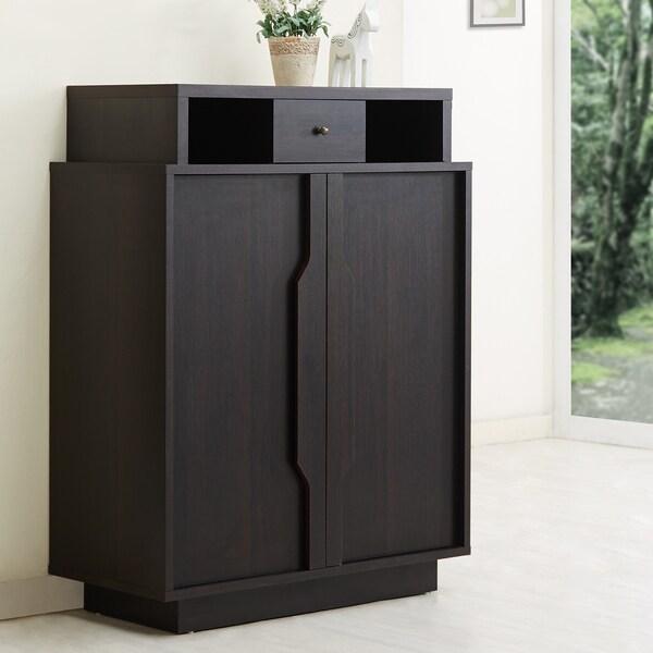Furniture Of America  Shelf Shoe Cabinet