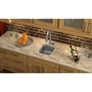 Small Copper Pewter Finish Bar Prep Sink 12728177