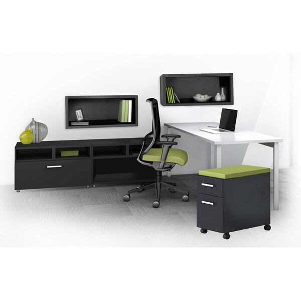 Overstock Office Furniture: Mayline E5 Series E5K16 6-piece Typical Office Furniture Set