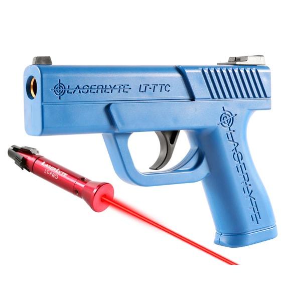 Laserlyte Center Mass Green Laser Sight: Laserlyte Trigger Tyme Compact Pistol/ Laser Pro Kit