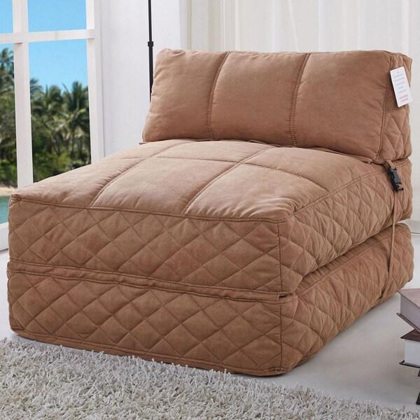 Austin Cobblestone Bean Bag Chair Bed 16453288