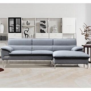 Atlanta Black Convertible Sectional Sofa Bed 14364249