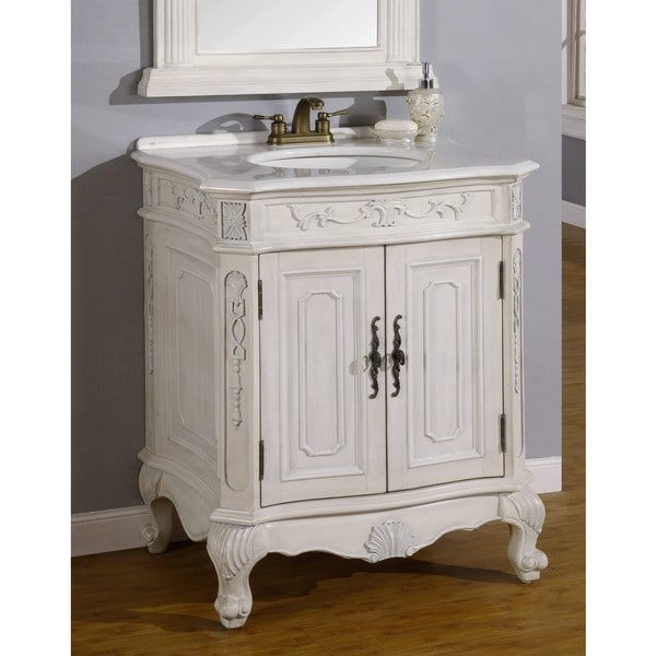 Vivianne single sink bathroom vanity overstock shopping - Bathroom vanities nebraska furniture mart ...