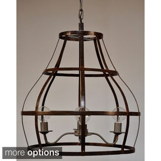 Rinee Cage Chandelier 16585997 Overstock Com Shopping