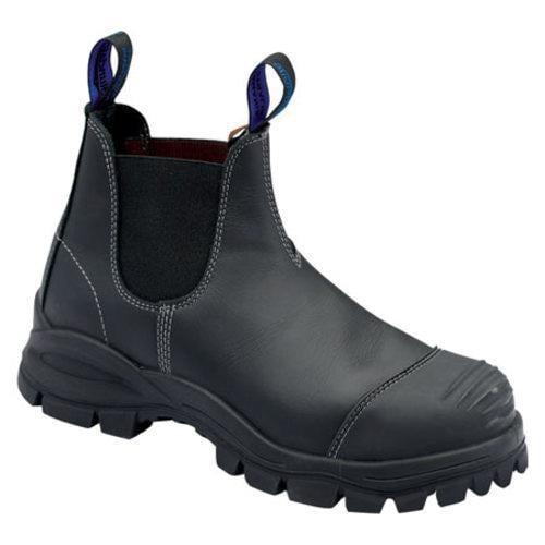 Men S Blundstone Xfoot Rubber Range Slip On Boot Black