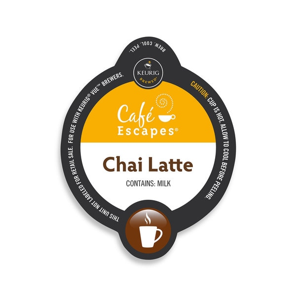Cafe Escapes Chai Latte Specialty, Vue Cup Portion Pack