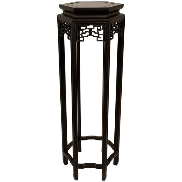 Hexagonal 36 Inch Oriental Plant Stand China 963743