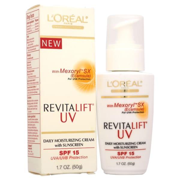 Uv protective everyday facial moisturizing cream spf 15 for the