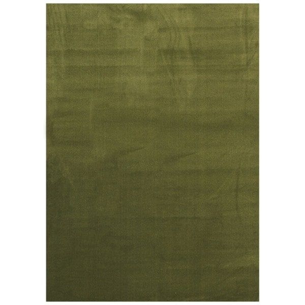 Maxy Home Collection Solid Sage Green Single Color Area