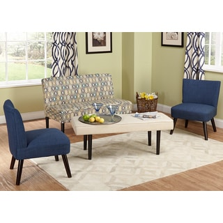 Alexis Zeph 3 Piece Accent Chairs And Side Table Set