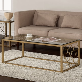Gold Coffee Sofa Amp End Tables Shop The Best Brands