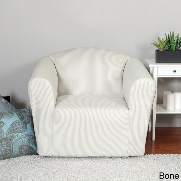 Surefit Chair Covers Montgomery One-piece Chair Stretch Slipcover - 16479297 ...