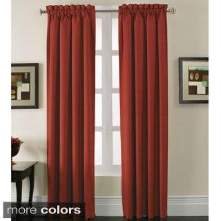 Madison Park Tara Cotton Embroidered 63 Inch Curtain Panel