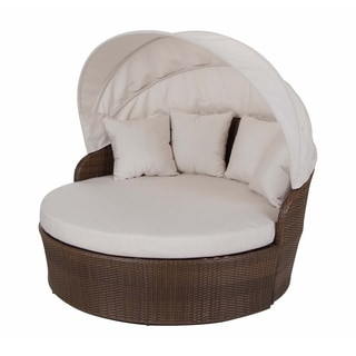 Luna Outdoor Round Rattan Patio Chair 15857758